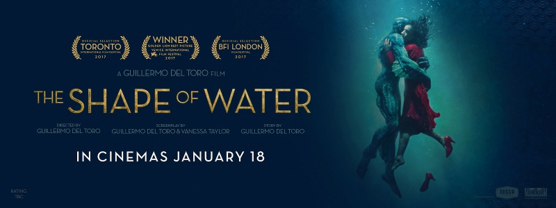 The Shape Of Water (Blu-ray) : DVD Talk Review of the Blu-ray Best Player 2017 Movie Poster
