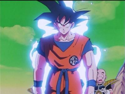DBZ Goku Jr vs Vegeta Jr