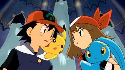 Pokemon Movie 9 Pokemon Ranger And The Temple Of The Sea Dvd